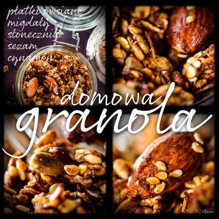 domowa granola …… …………………….. ………………………..