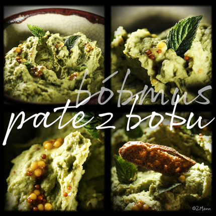 bóbmus, czyli pasta z bobu