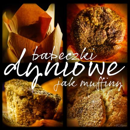 babeczki dyniowe, jak muffiny
