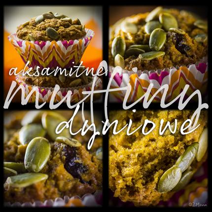 aksamitne muffiny dyniowe