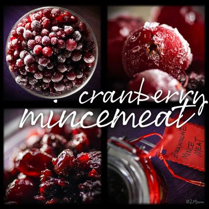 cranberry 'mincemeat'… najlepsze nadzienie żurawinowe …………..