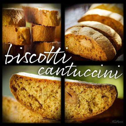 biscotti albo cantuccini . włoskie ciasteczka dwa razy pieczone