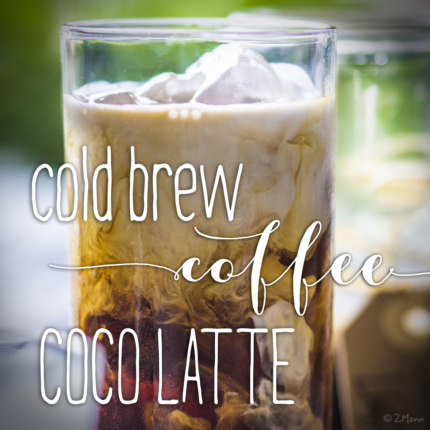 cold brew coffee COCO LATTE