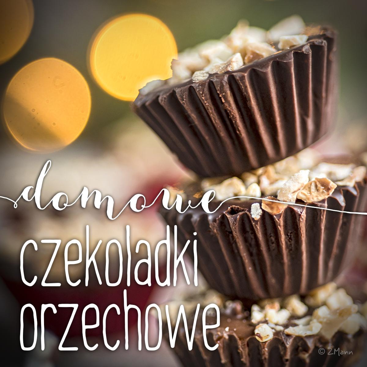 czekoladki orzechowe