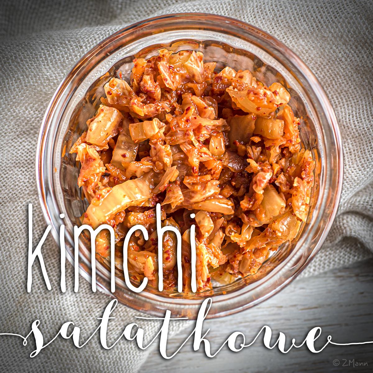 kimchi sałatkowe