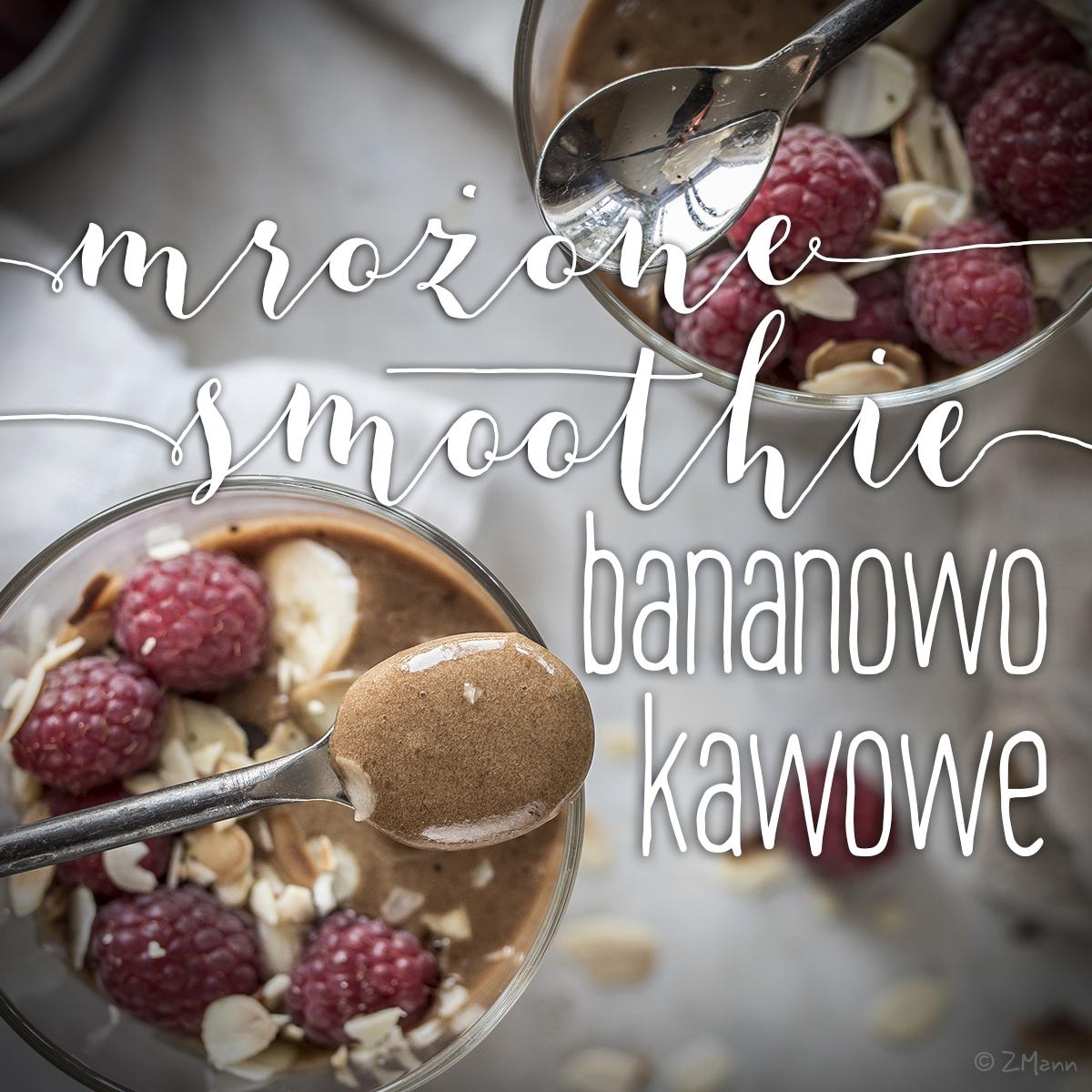 smoothie bananowo-kawowe