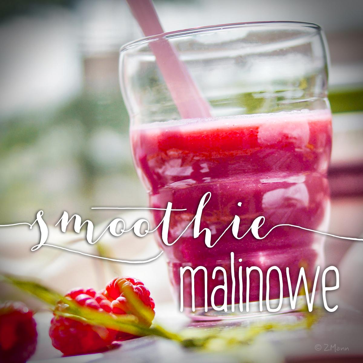smoothie malinowe