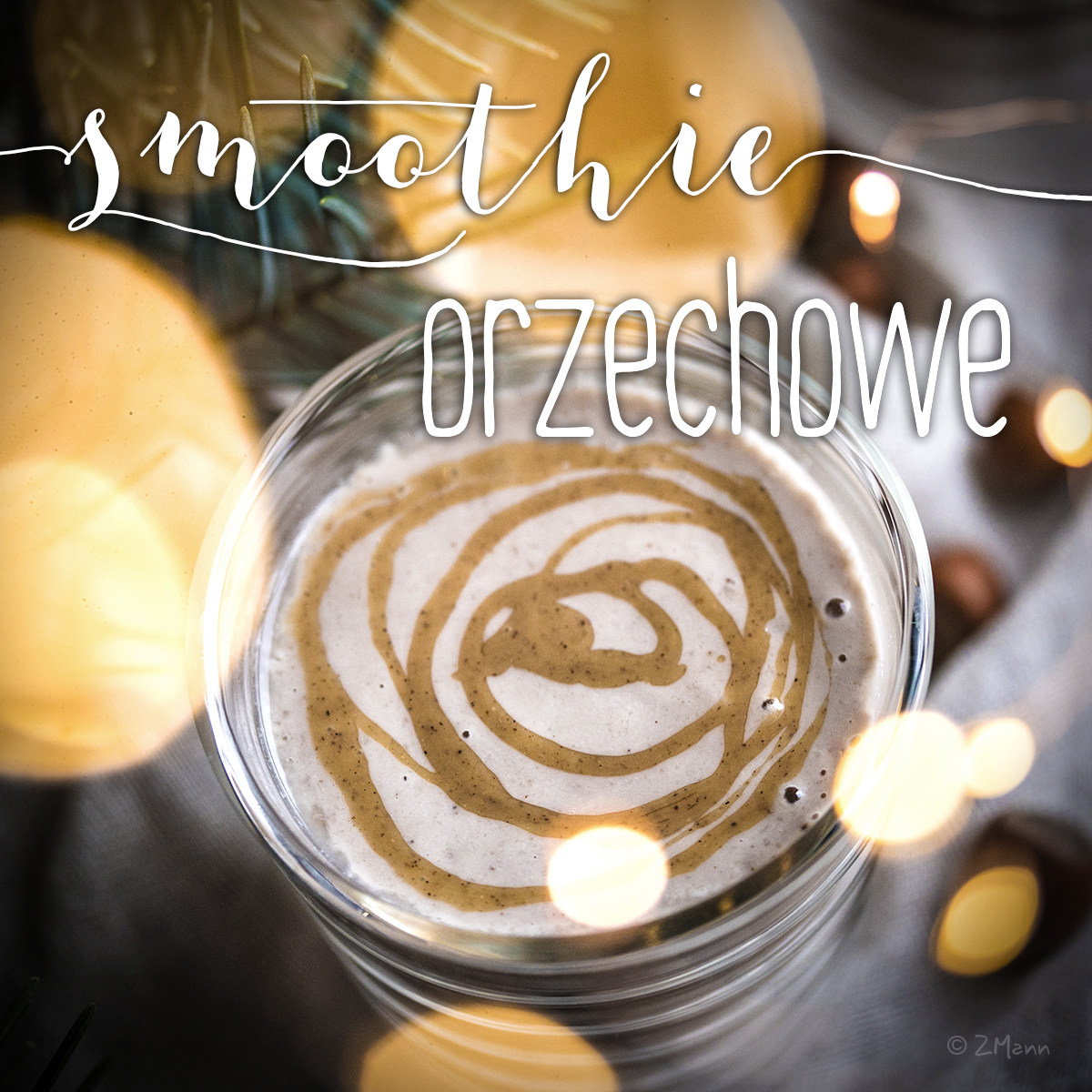 smoothie orzechowe