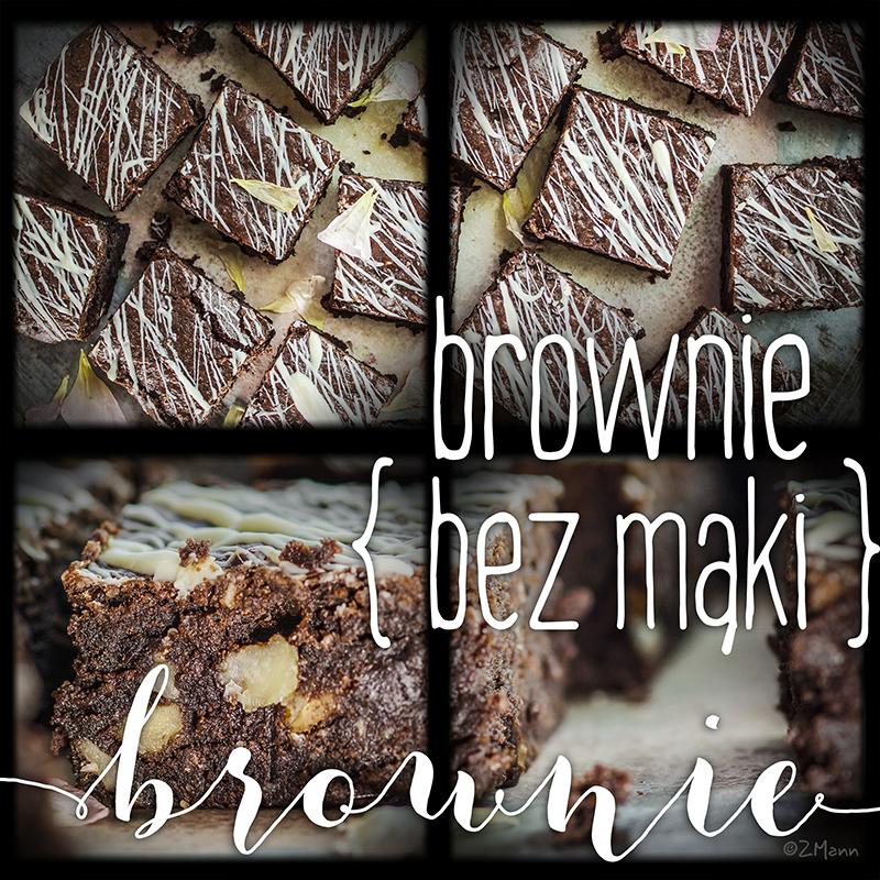 brownie bez mąki, szybkie i pyszne!