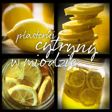 plasterki cytryny w miodzie