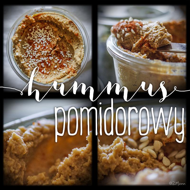 hummus pomidorowy