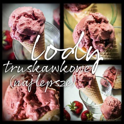 najlepsze lody truskawkowe