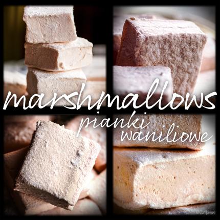 marshmallows, czyli domowe pianki waniliowe