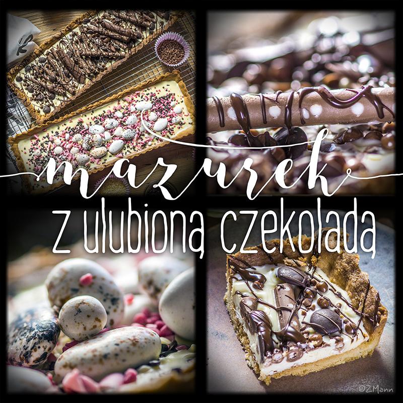 mazurek z ulubioną czekoladą