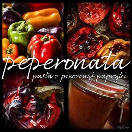 peperonata . . . włoska pasta z papryki pieczonej