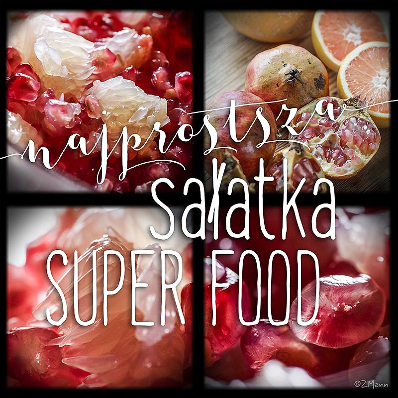 najprostsza sałatka SUPER FOOD