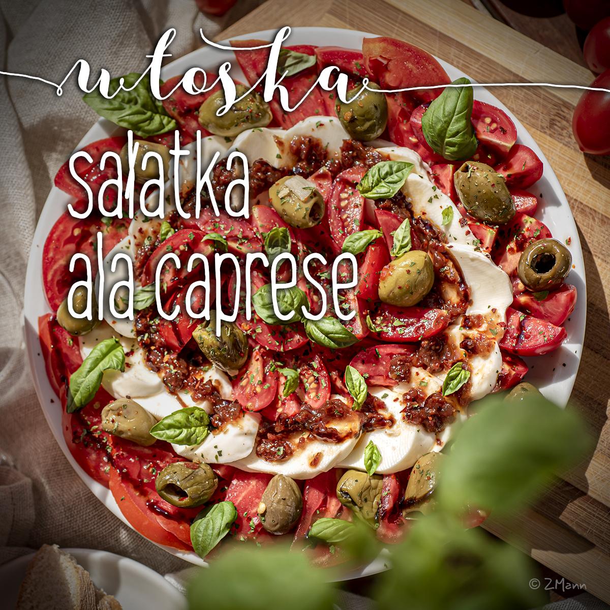 włoska sałatka ala caprese